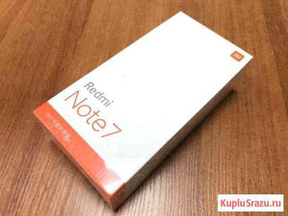 Xiaomi Redmi Note 7 4/64 новые магазин Подольск