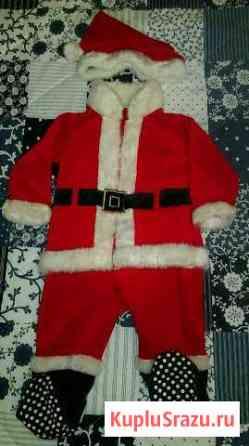 Новогодний костюм-слип Санта (8-12 мес) Санкт-Петербург
