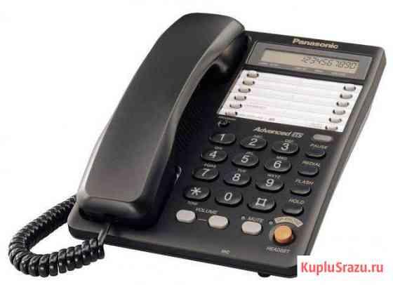 Телефон Panasonic KX-TS2365RUB Пески
