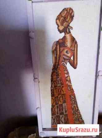 Картина Мавританка ручная вышивка 50 *21 Чехов