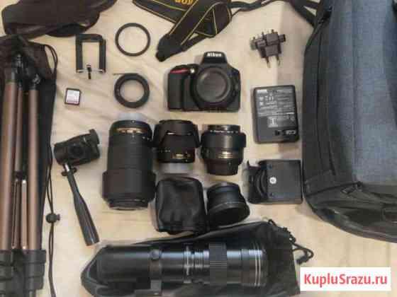 Камера, объективы, в идеальном состоянии гарантия Луховицы