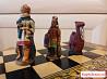Шахматы ручной работы сувенирные (Инки-конкистадор