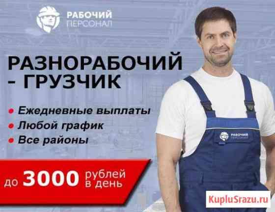 Грузчики на подработку. Выплаты ежедневно Санкт-Петербург