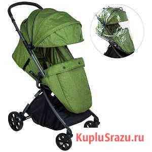 Коляска прогулочная Everflo 338 новая зеленая Казань