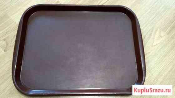 Поднос в хорошем состоянии, коричневый 47x35,5 см Казань
