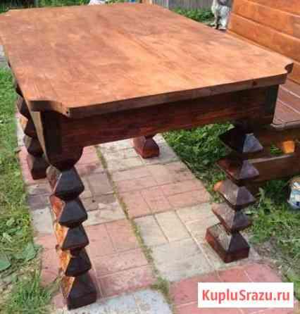 Комплект дачной мебели Сясьстрой