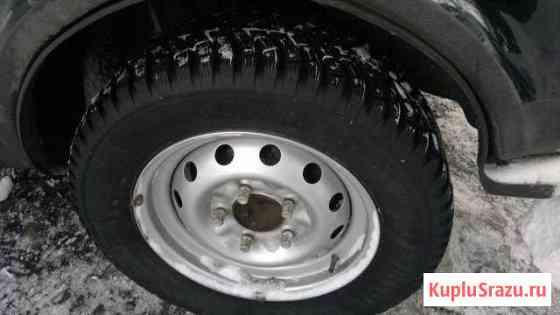 Зимние шипованные колеса для Нивы Подпорожье