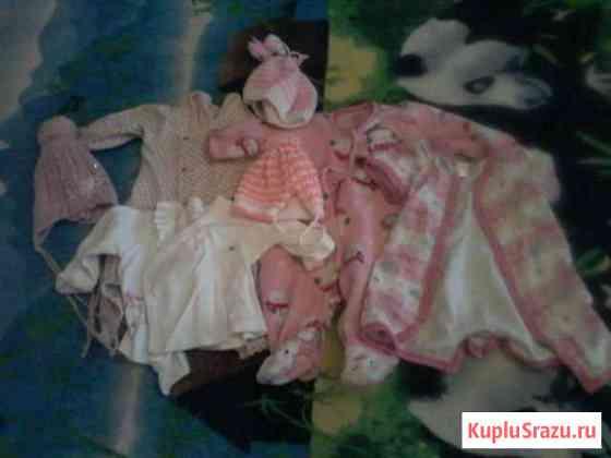 Вещи пакетом на девочку Кирпичное