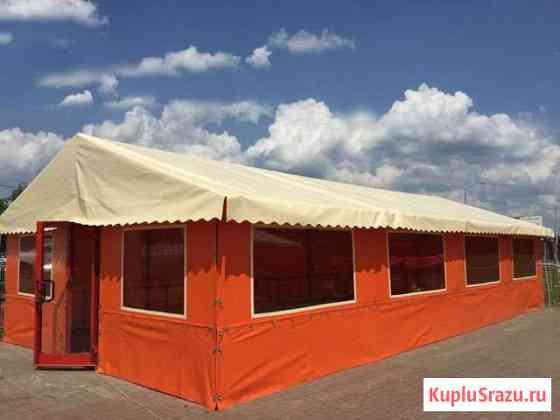 Тент - каркасный павильон Старосубхангулово