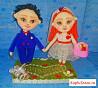 Сувенирные куколки ручной работы