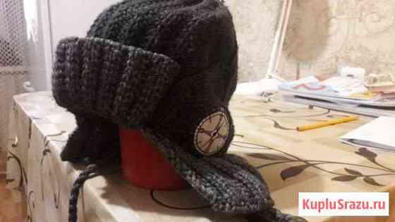 Теплая шапочка на мальчика 5-6 лет Улан-Удэ