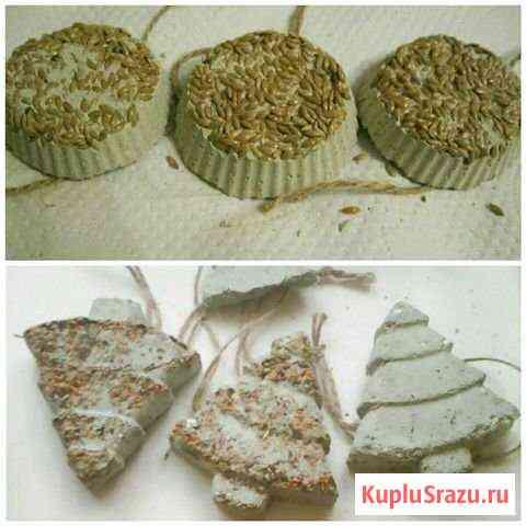 Камень глиняный минеральный для птиц Волжский
