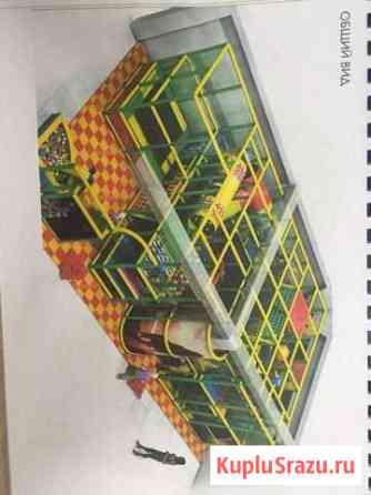 Детский игровой лабиринт Манаскент