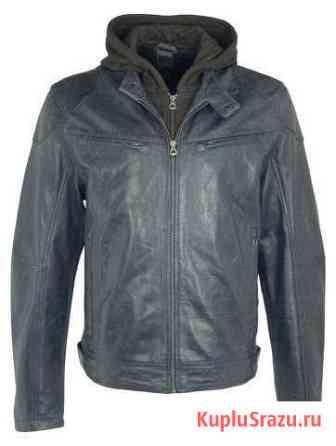 Новая мужская куртка из натуральной кожи Биробиджан