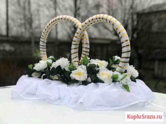 Прокат Свадебное украшение на машину Олонец