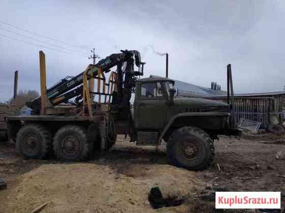 Продам лесовоз с гмп и прицепом-роспуском Антропово