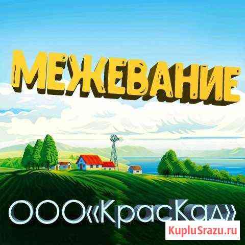 Межевание, технический план, вынос границ Красноярск