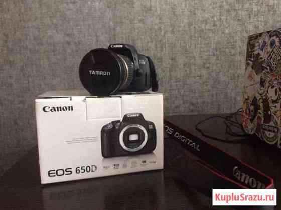 Canon EOS 650D + объектив tamron 10-24mm Красноярск