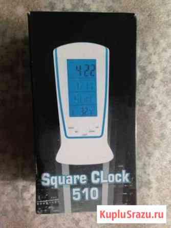 Часы-Будильн-Календарь-Термометр Square Clock 510 Йошкар-Ола