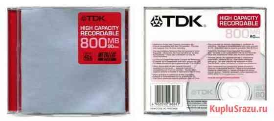 CD-R TDK 800MB Пермь