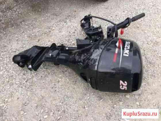Лодочный мотор Сузуки 25 4-такта Владивосток