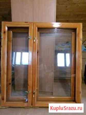 Окна наплавные. Двойное остек, ш. 1270*в. 1350 Горно-Алтайск
