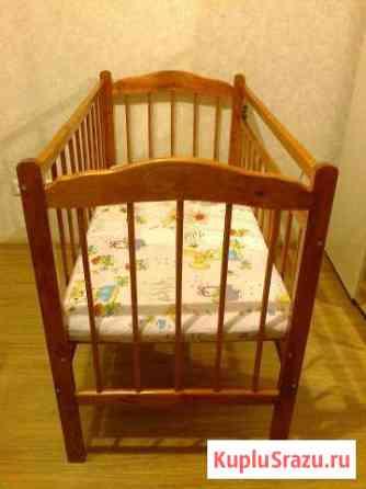 Детская деревянная кроватка Горно-Алтайск