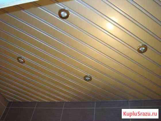 Алюминиевый реечный потолок Ванино