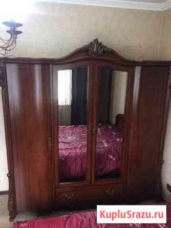 Спальный гарнитур (кровать, комод, шкаф) «Орхидея» Абакан