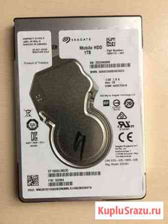 Жесткий диск 2.5 Seagate Mobile HDD 1TB. Новый Абакан
