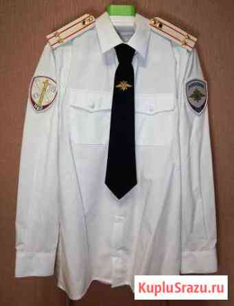 Рубашка белая сотрудника овд (новая) Ханты-Мансийск