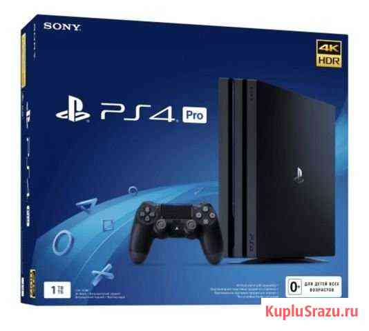 Sony PS4 pro 1 TB, Black Грозный