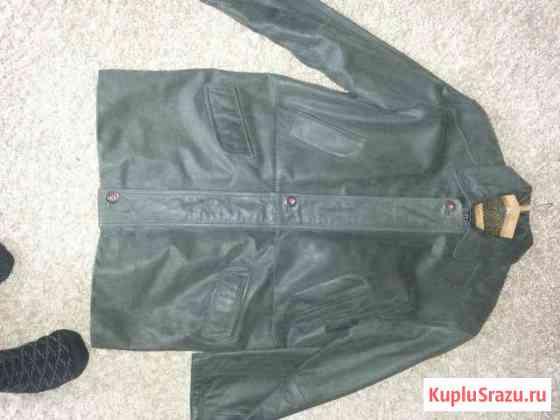 Куртка кожаная.52-54 размер.Турция.Новая Чебоксары