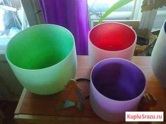 Поющие чаши из кварца crystal singin bowls Чебоксары