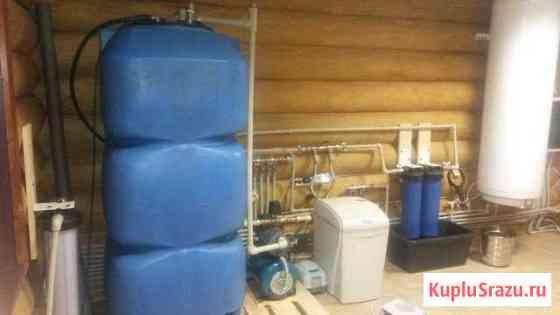 Водоснабжение и водоотведение в частном доме Петрозаводск