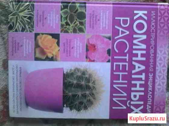 Книга энциклопедия домашних растении Чегем