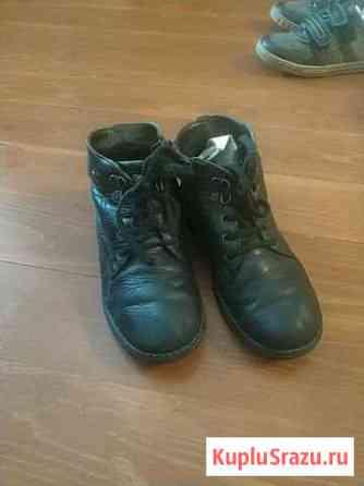 Ботинки на мальчика кожаные Улан-Удэ