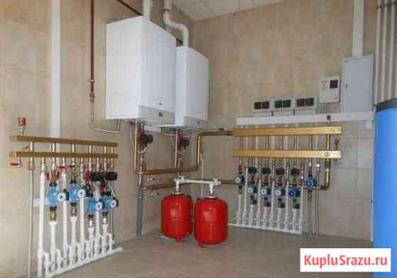 Монтаж отопления и водоснабжения Кузнецк