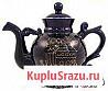 Чайник Новгород кобальт позолоченный