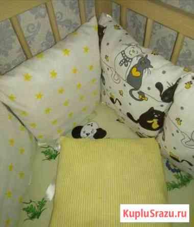 Бортики в кроватку на заказ Чита