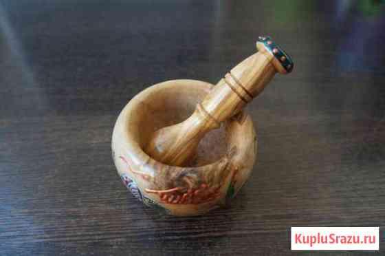 Ступка деревянная с пестиком Ульяновск