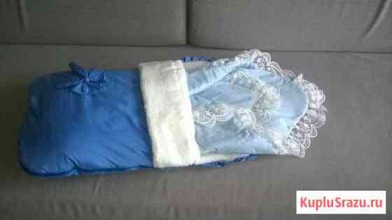 Конверт на выписку утепленный с одеялом Сочи