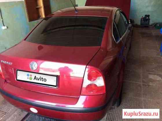 Volkswagen Passat 2.0МТ, 2002, седан Навля
