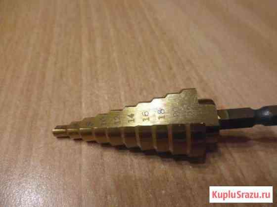Сверло ступенчатое 4-22 мм Калининград
