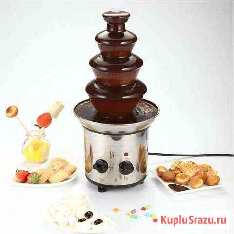 Шоколадный фонтан-фондю keya (4 яруса) Улан-Удэ