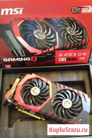 Видеокарта MSI AMD Radeon RX 480 gaming X Сочи