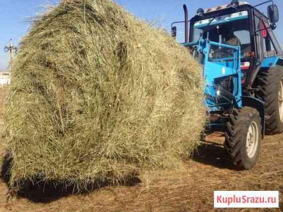 Продаю сено в рулонах 350 кг Улан-Удэ