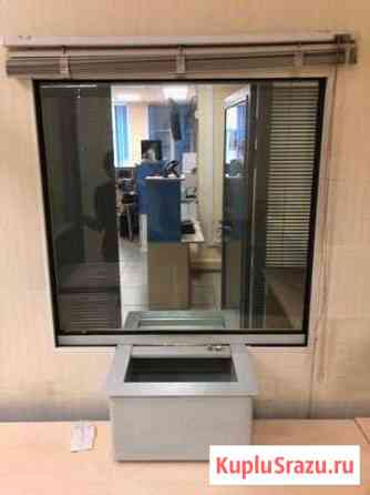 Окна бронированные для кассы, с лотком - 2 шт Томск