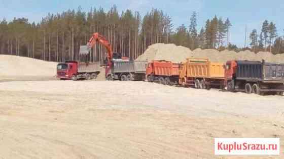 Доставка песка и щебня Санкт-Петербург