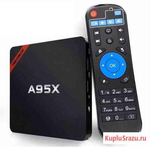 Новая приставка Android Smart TV Box Nexbox A95X Чебоксары